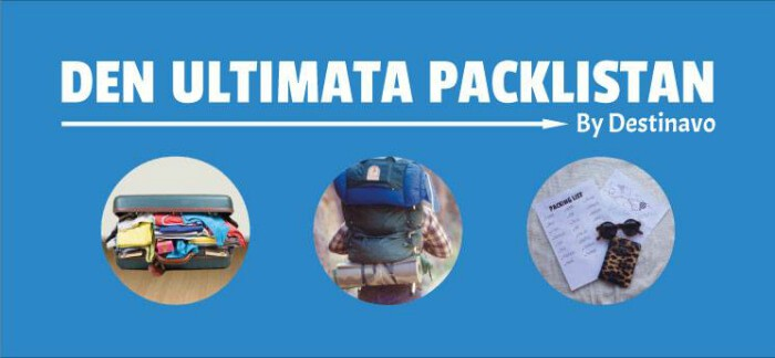 Den Ultimata Packlistan