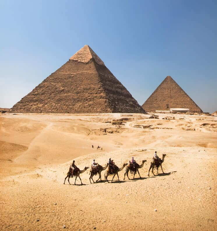 Giza Pyramiderna