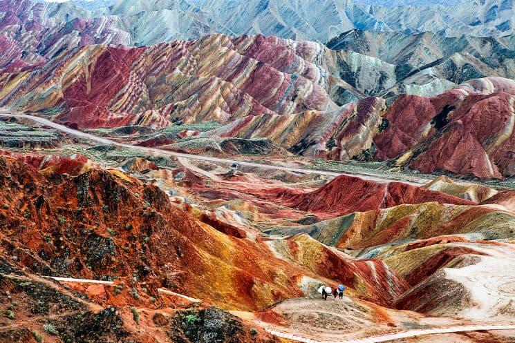 Zhangye Geological Landform