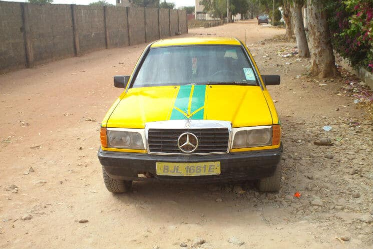bush taxi Gambia