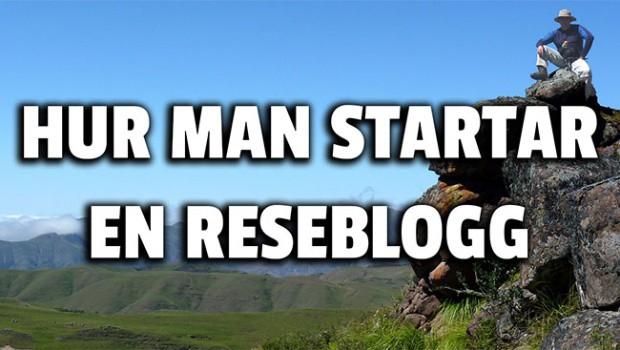 Så här enkelt startar du en reseblogg