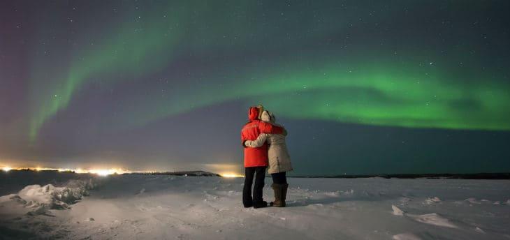 Norrskenet Aurora Borealis