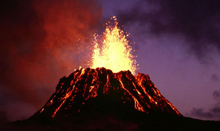 Aktiv vulkan