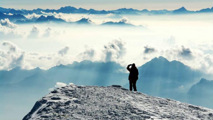 Bestiga ett berg