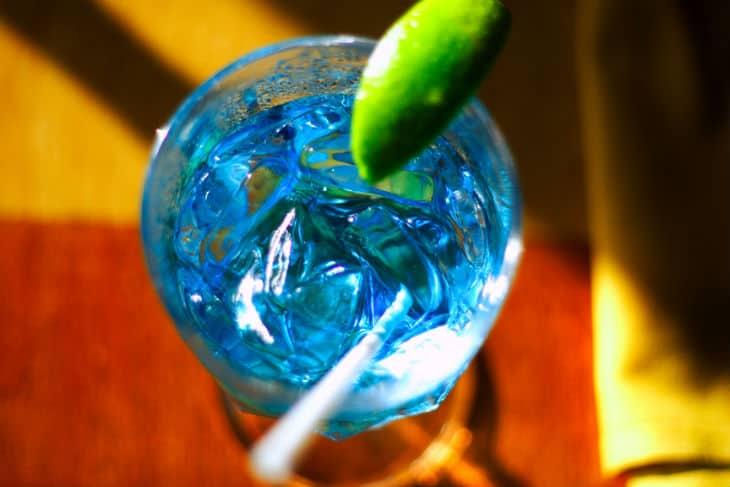 Blå curacao