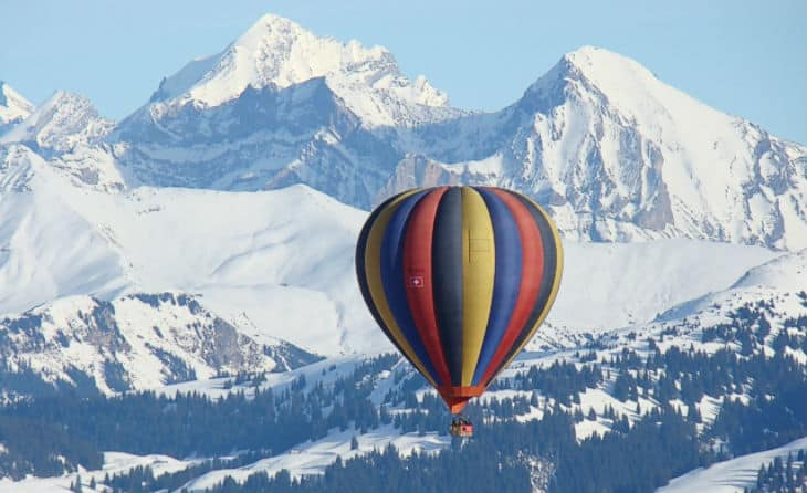 Gstaad luftballong