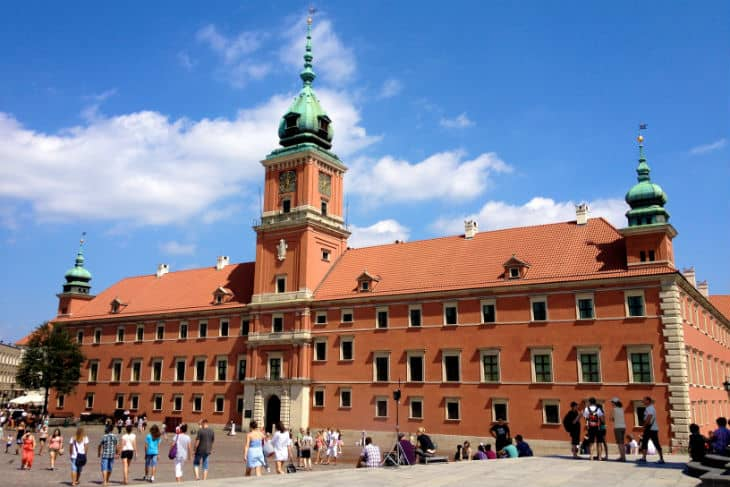Kungliga slottet Warszawa