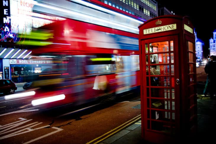 London telefonkiosk