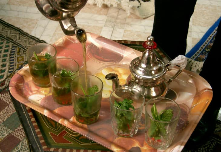 Maghreb mint tea