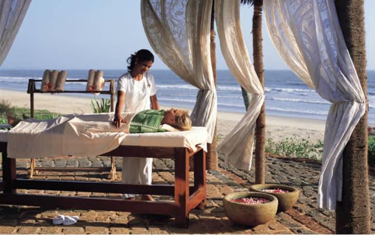 Massage på stranden