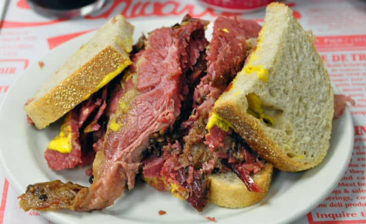 Montreal style smoked meat