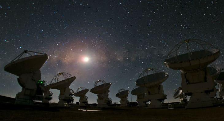 Observatoriet i Chile