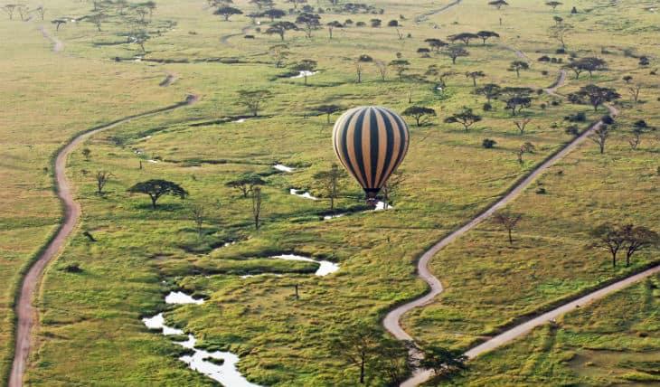 Serengeti luftballong