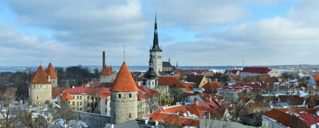 Tallinn Gamla stan