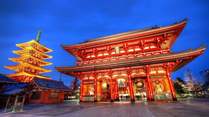 Tempel i Tokyo