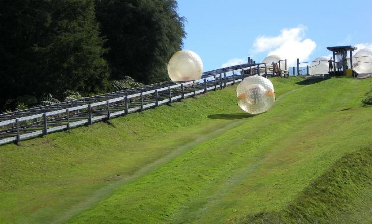 Zorb i Rotorua Nya Zeeland