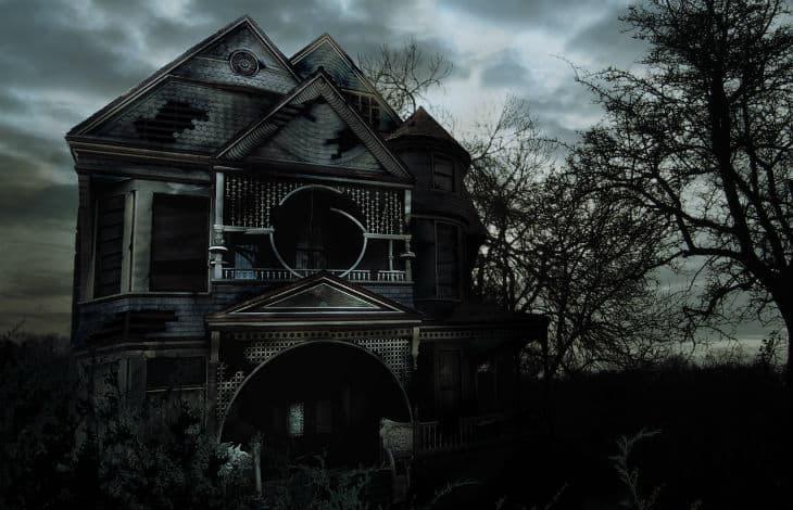hemsökt hus