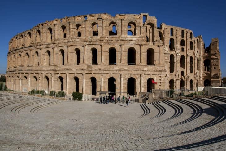 Amfiteatern_El_Jem