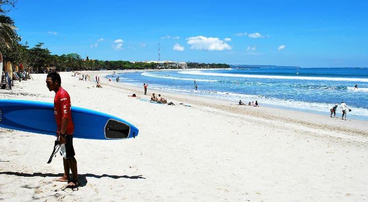 Bali kuta beach
