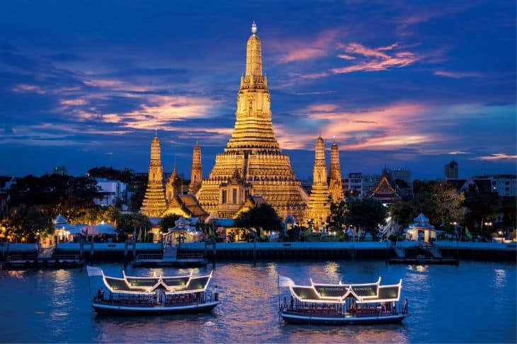 Chao Praya båttur
