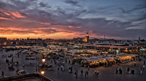 Marrakech-Marocko