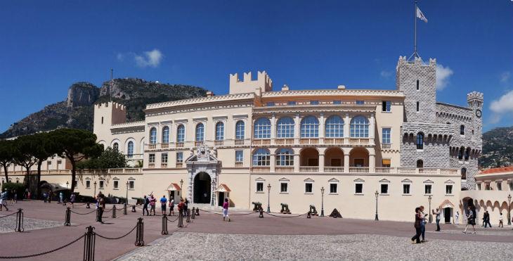 Prinsens palats i Monaco