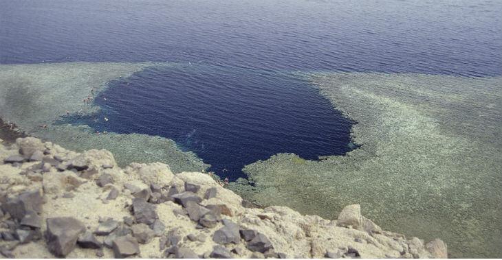 Blue hole Egypten