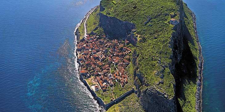 Monemvasia Grekland