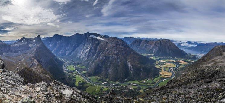 Romsdalseggen norge