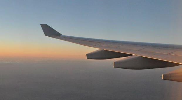 flygplan utsikt