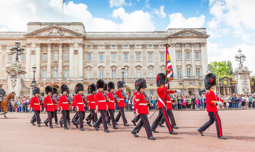 Buckingham palatset