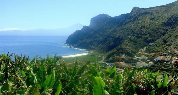 La Gomera Kanarieöarna