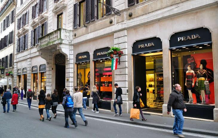 Via Condotti shoppinggata