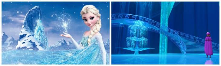 Frozen slott