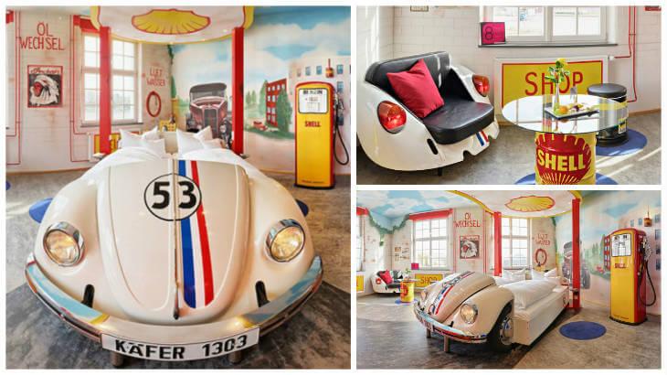 Herbie V8 Hotell