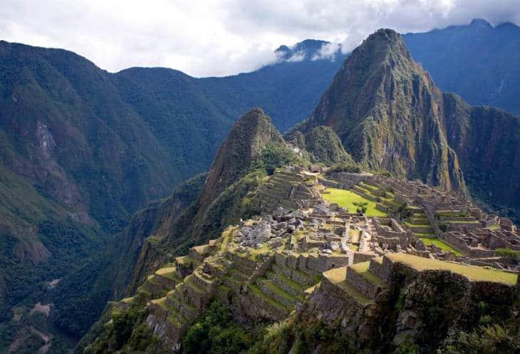 Machu Picchu kejsarens nya stil