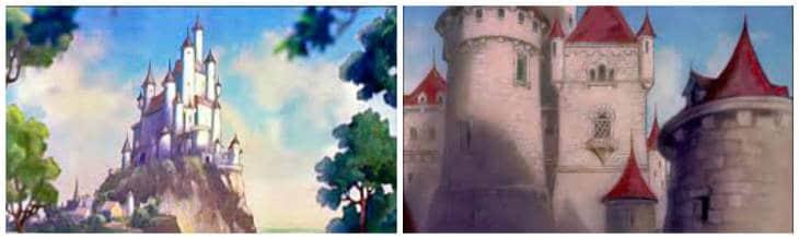Snövit slott