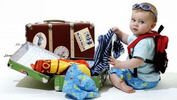 resa med småbarn