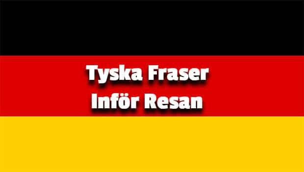 tyska fraser