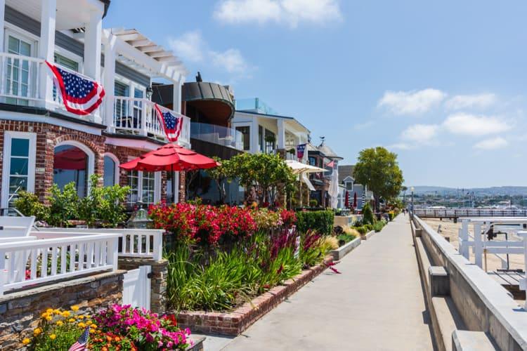 Balboa Island California