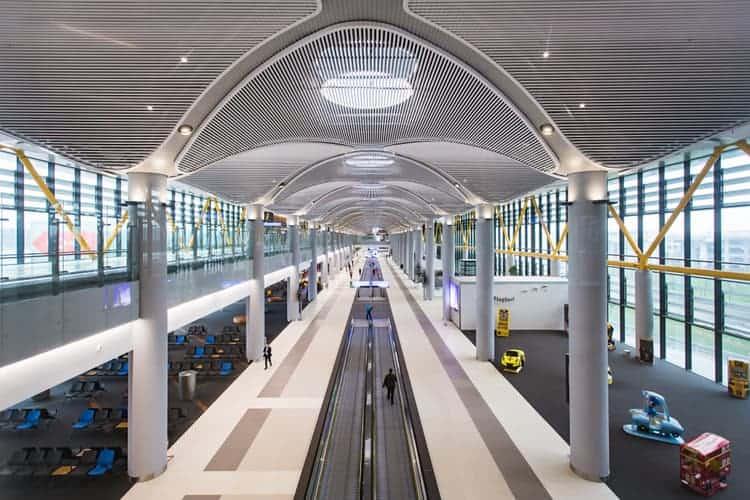 Världens största flygplats i framtiden