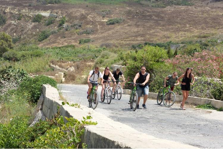cykeltur gozo