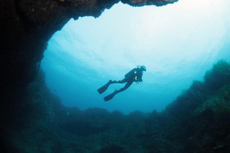 dykning gozo