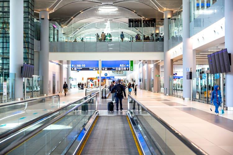 information om världens största flygplatser