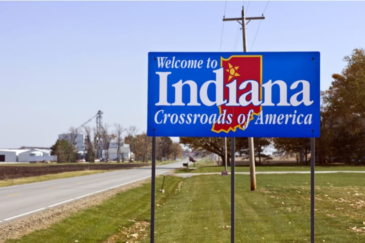 Largest cities in Indiana