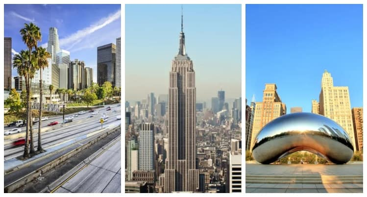Usas största städer