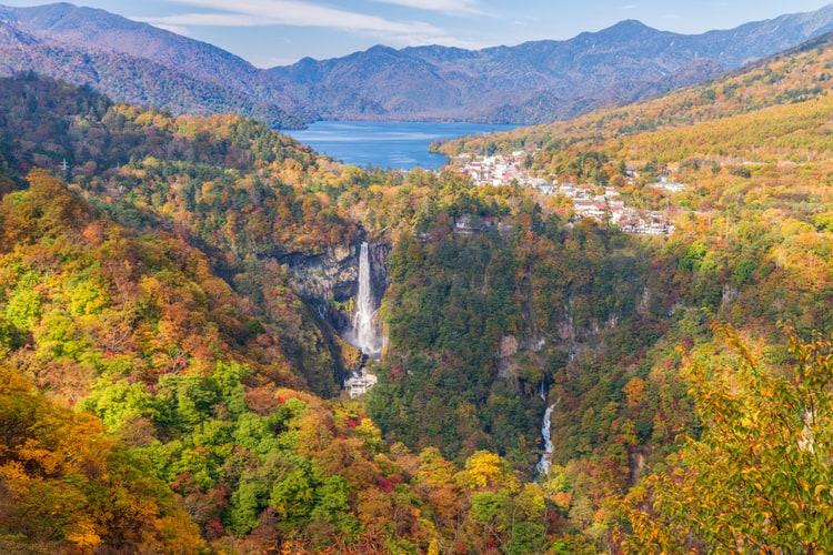 Nikko National Park in Japan